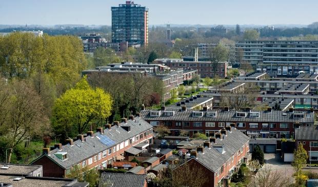 <p>Luchtfoto van de Gildenwijk</p>