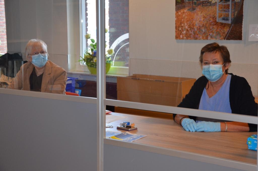 Het stembureau in Langbroek Ali van Vemde © BDU media