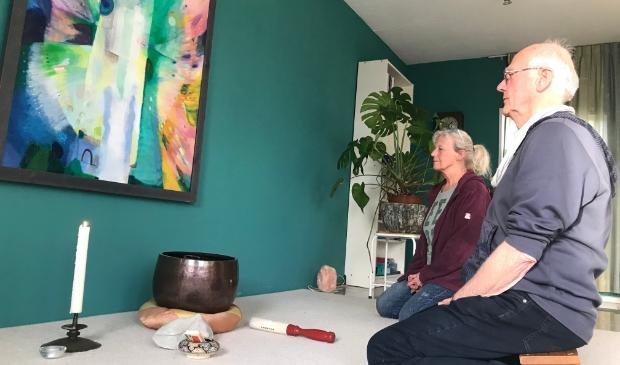 <p>Cocky en Guy hebben een ruime plek voor vieringen, gezamenlijke maaltijden, filmavonden en meditatie.</p>