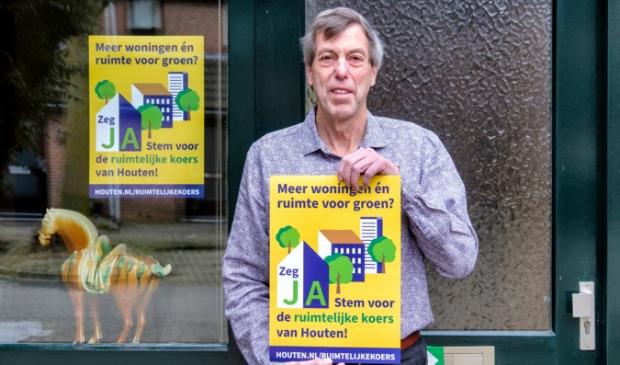 Willem Kox is voorstander van de Ruimtelijke Koers