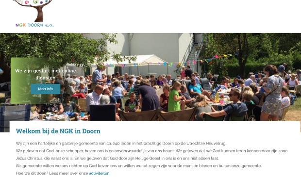 Website NGK Doorn