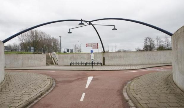 <p>Fietstunnel bij De Staart</p>