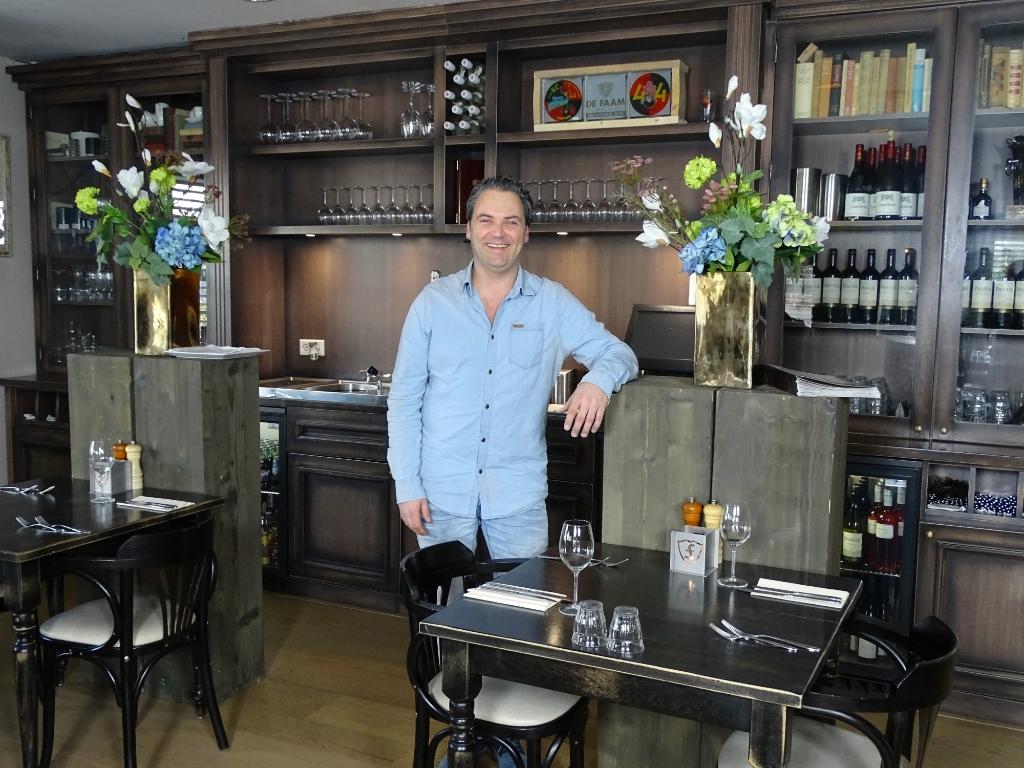Edo, is blij met uw komst in zijn restaurant GH © BDU media