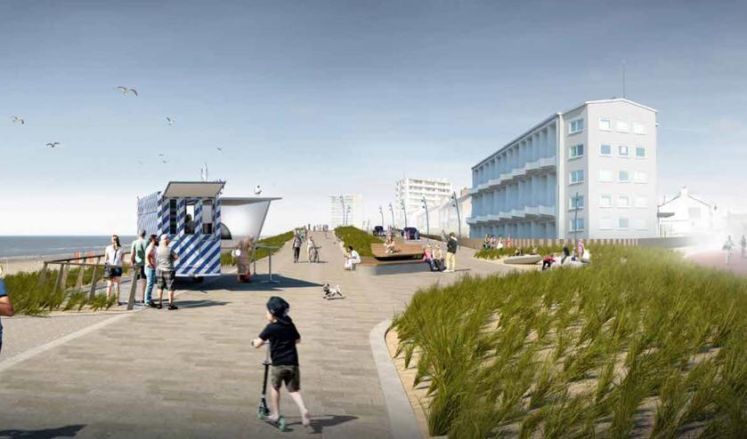 Zandvoortse boulevard wordt opnieuw ingericht