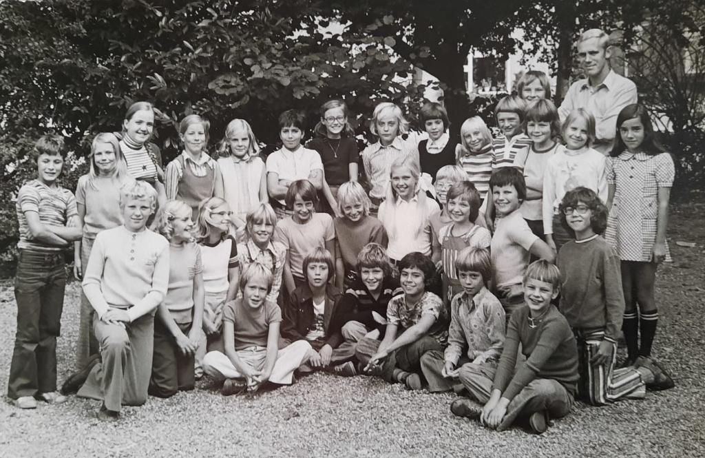 <p>Jaren zeventig: ,,,,Het is onze kindertijd die ons vandaag nog verbindt, al meer dan vijftig jaar.&quot;</p> Eigen foto © BDU media
