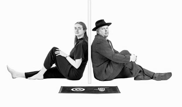 <p>Eva Meuwissen (Per Expressie) en Bernard van Gellekom (Studio-FCG):&#39;Dit is t&eacute; leuk om n&iacute;et te doen&#39;.</p>