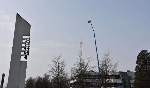 <p>&#39;Adembenemend&#39; zei de monteur over het uitzicht over Soest en wijde omgeving.</p>