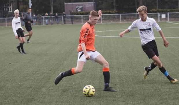 <p>Bob van Ruitenbeek in actie.</p>