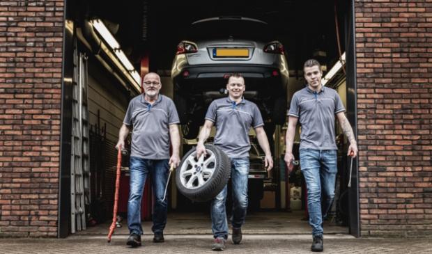 <p>V.l.n.r. Teun, Bert en Hugo blikken vooruit in de toekomst.</p>