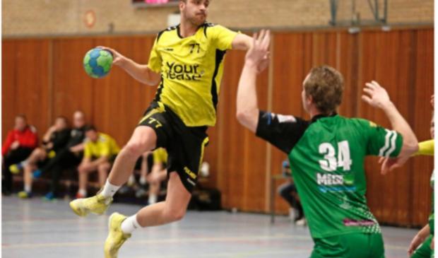 Johnny van Gulik in actie
