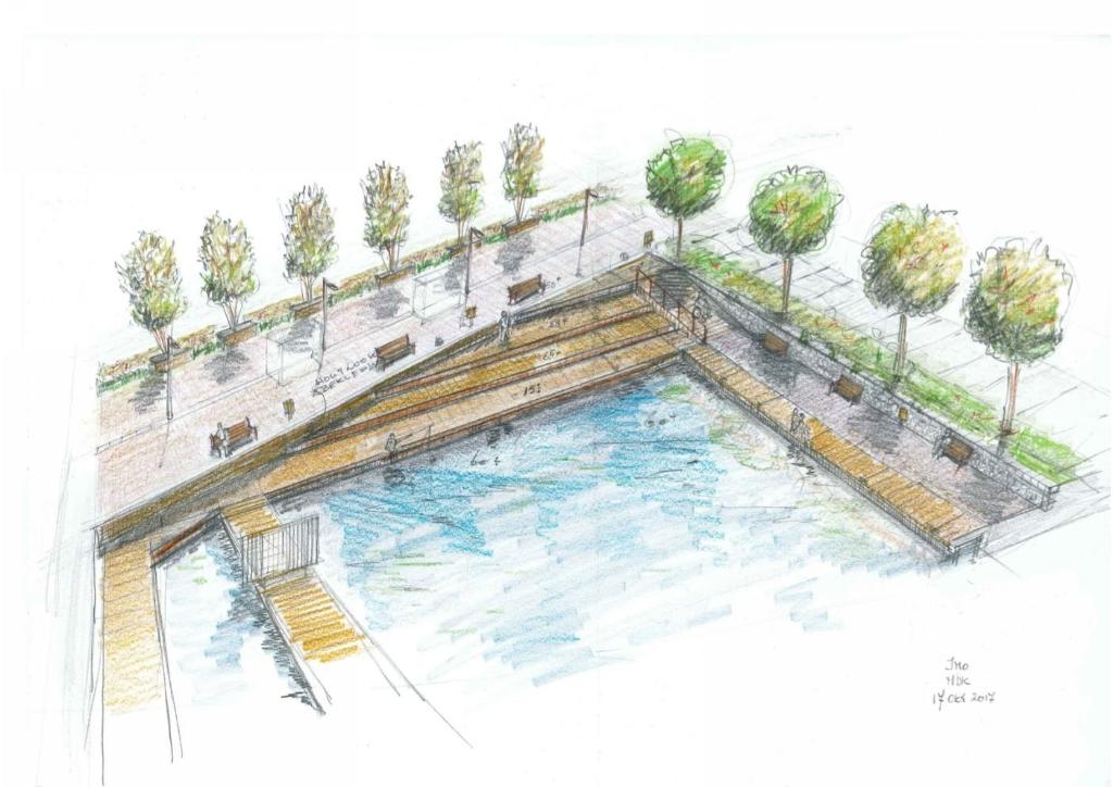 Impressie van de toekomstige haven. Gemeente Heemstede © BDU media