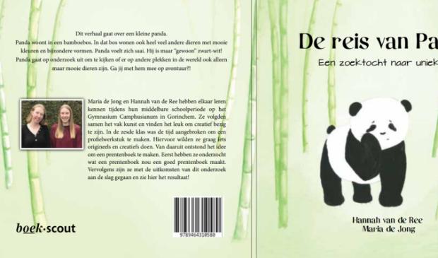 Cover van het boek 'De reis van Panda'