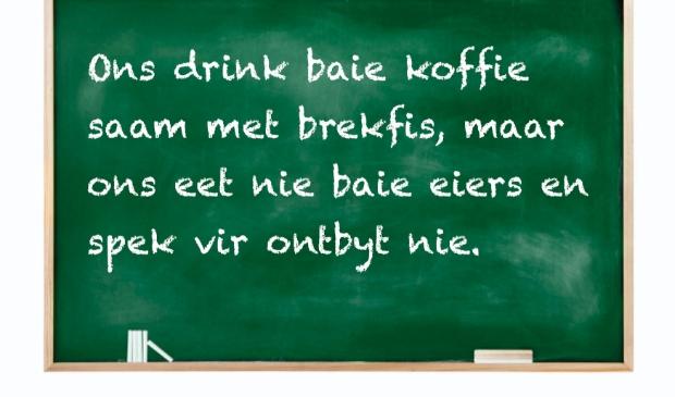 <p>Op College de Heemlanden analyseren leerlingen verschillen en overeenkomsten tussen het Zuid-Afrikaans en het Nederlands.</p>