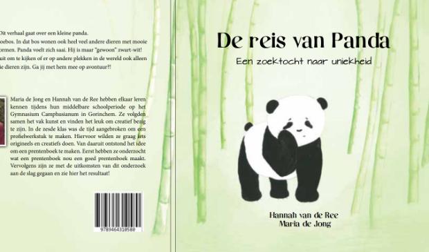 <p>Cover van het boek 'De reis van Panda'</p>