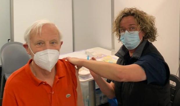 <p>De 100.000e vaccinatie van GGD Utrecht vond zaterdagochtend plaats.</p>