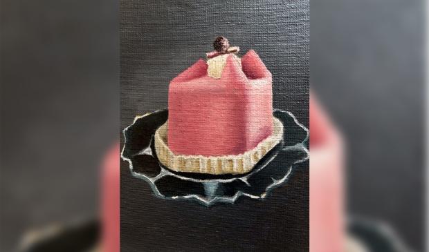 Werk uit expositie Smakelijke Taartjes