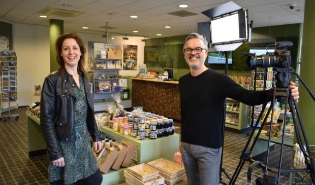 <p>Richard van der Poll kwam met het initiatief om de winkeliers te filmen.</p>