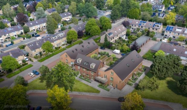 <p>Het te bouwen project met eengezinswoningen en appartementen aan het Buntplein.</p>