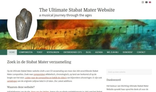 Vernieuwde Ultimate Stabat Mater Website