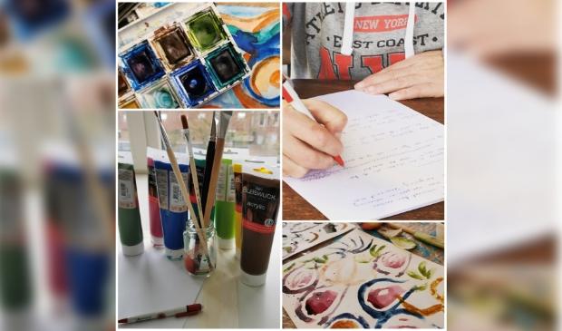 <p>Er worden verschillende workshops georganiseerd, online &eacute;n in de Cultuurschuur Bunnik. </p>