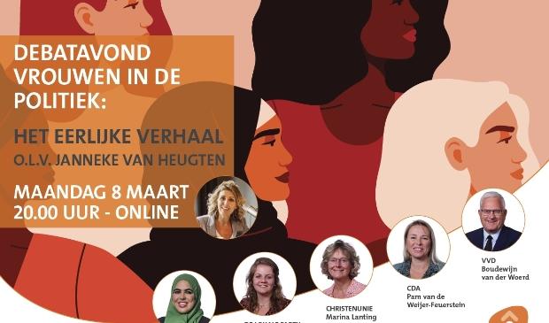 Online debatavond 8 maart