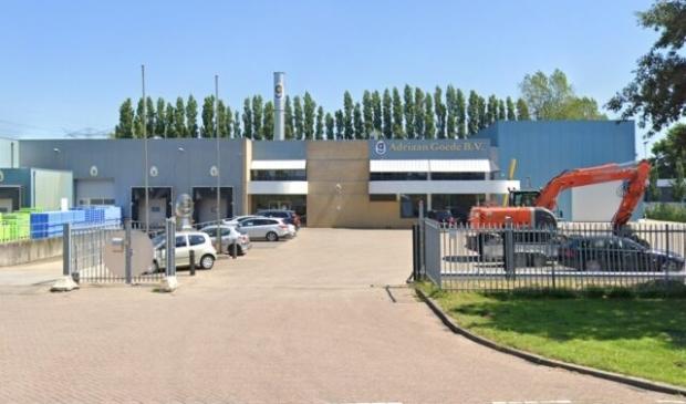 De vestiging van Adriaan Goede in Landsmeer.
