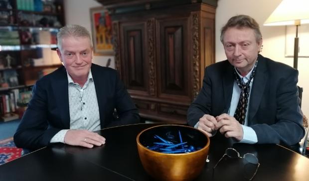 <p>Marc van der Bent en Peter de Leede: ,,Ons beroep is niet procederen, maar juist bemiddelen.&quot;</p>