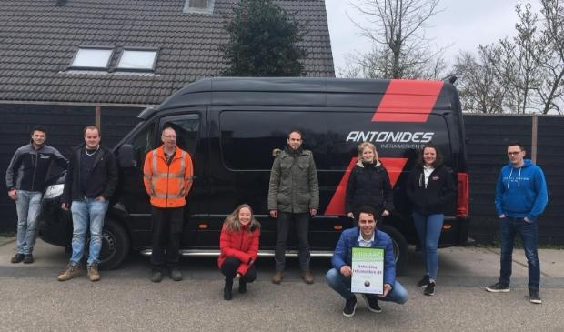 <p>De teamleden van Antonides Infrawerken BV.</p>