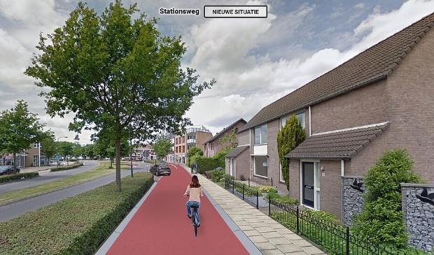 <p>Inwoners zijn bezorgd over de plannen voor de snelfietsroute door het dorp Bunnik</p>