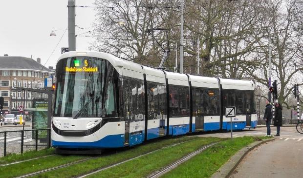 <p>Lijn 5 is op weg naar Amstelveen.</p>