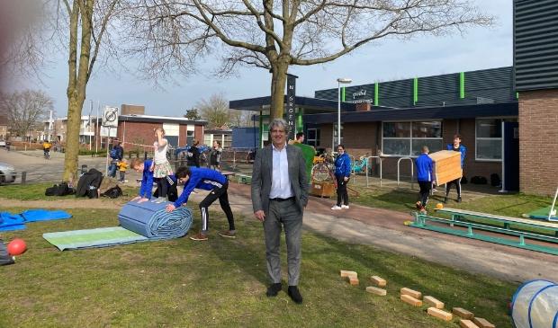 <p>Wethouder Bert Koops wil 15 miljoen euro investeren in de sport in Putten.</p>