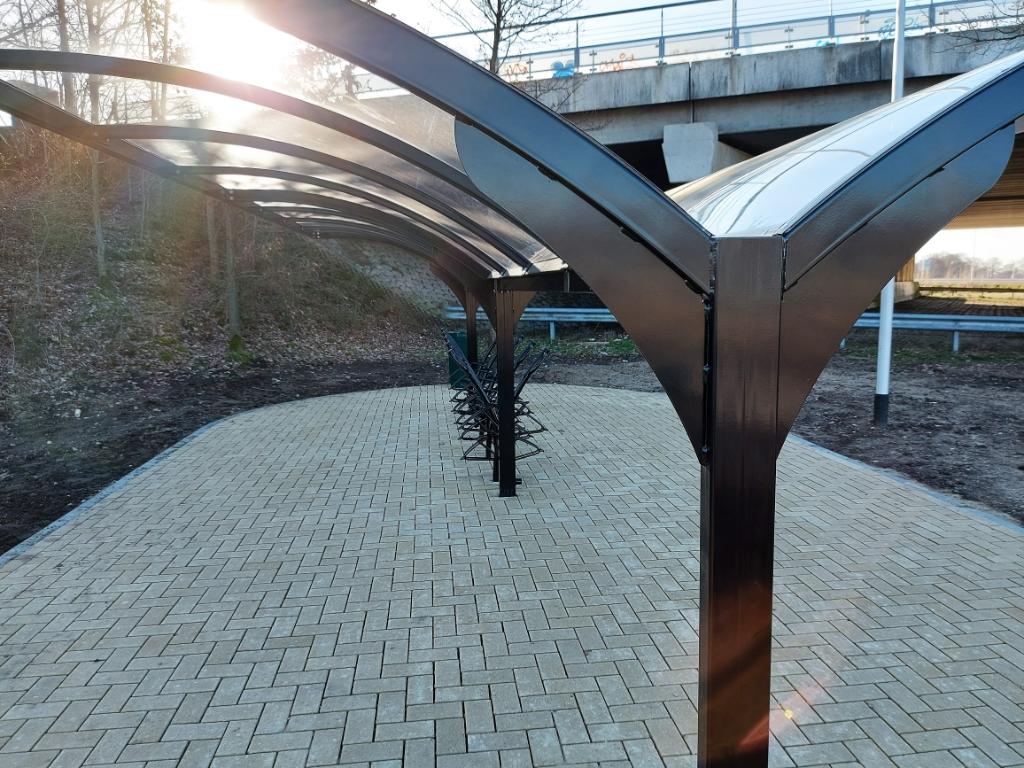 Fotoquiz 45: Ede, vernieuwde carpoolplaats bij 'Poortwachter' aan A12 Henny Jansen © BDU Media