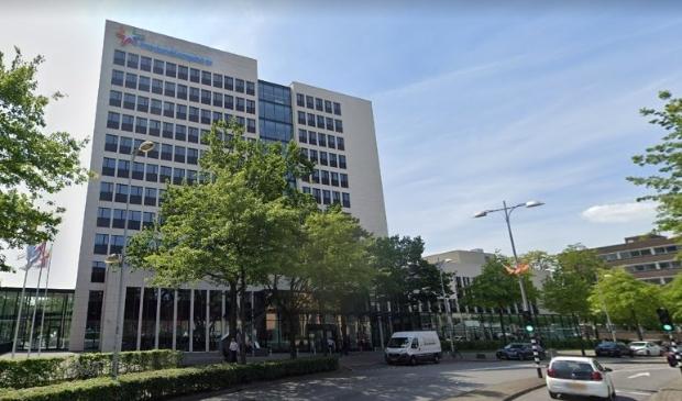 Het hoofdkantoor aan de Stationsstraat in Amersfoort.