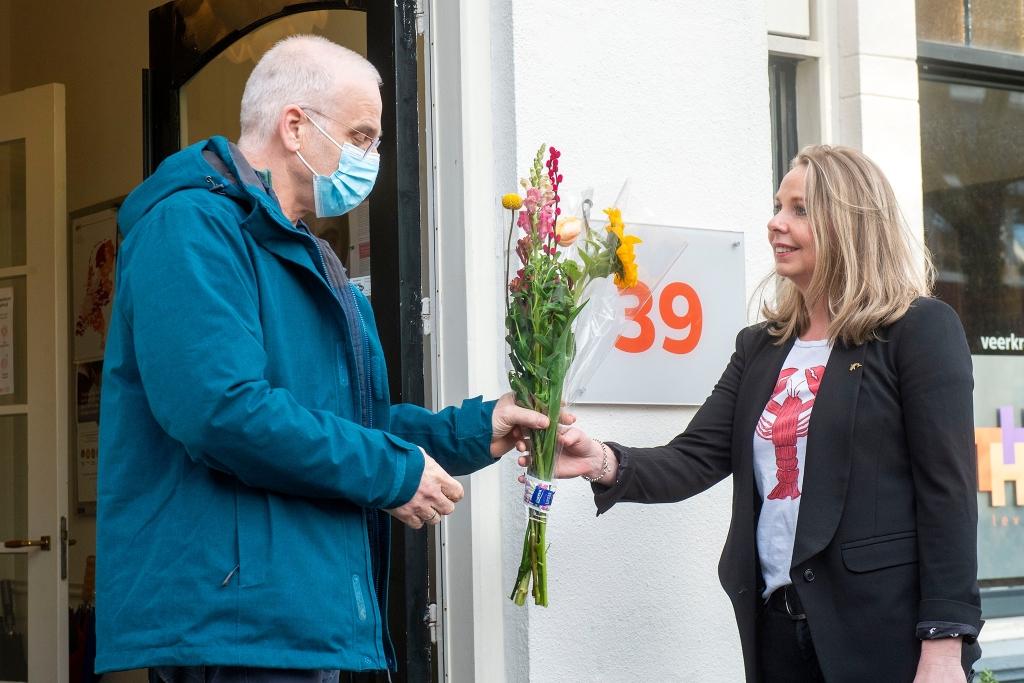 Actie voor Toon Hermans huis  Rinus van Denderen © BDU media