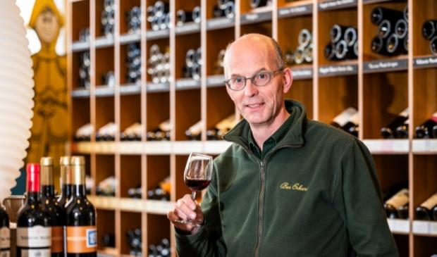 <p>Wijnspecialist Ben Erkens.</p>