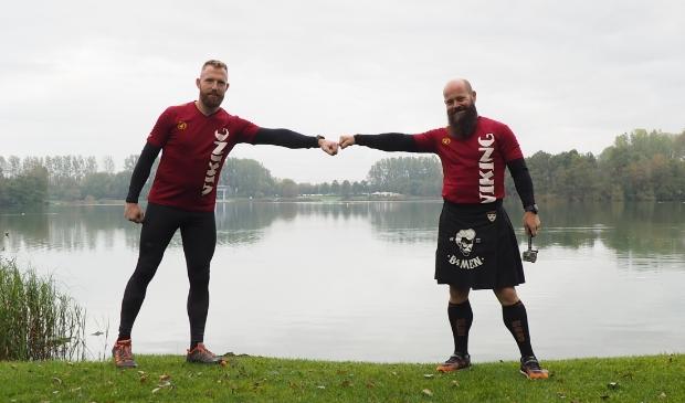 Maarten Swart en Rene Laenen van Beards4life