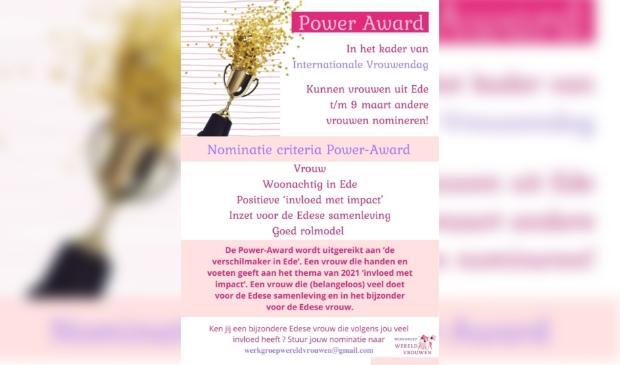 flyer Power Award Ede