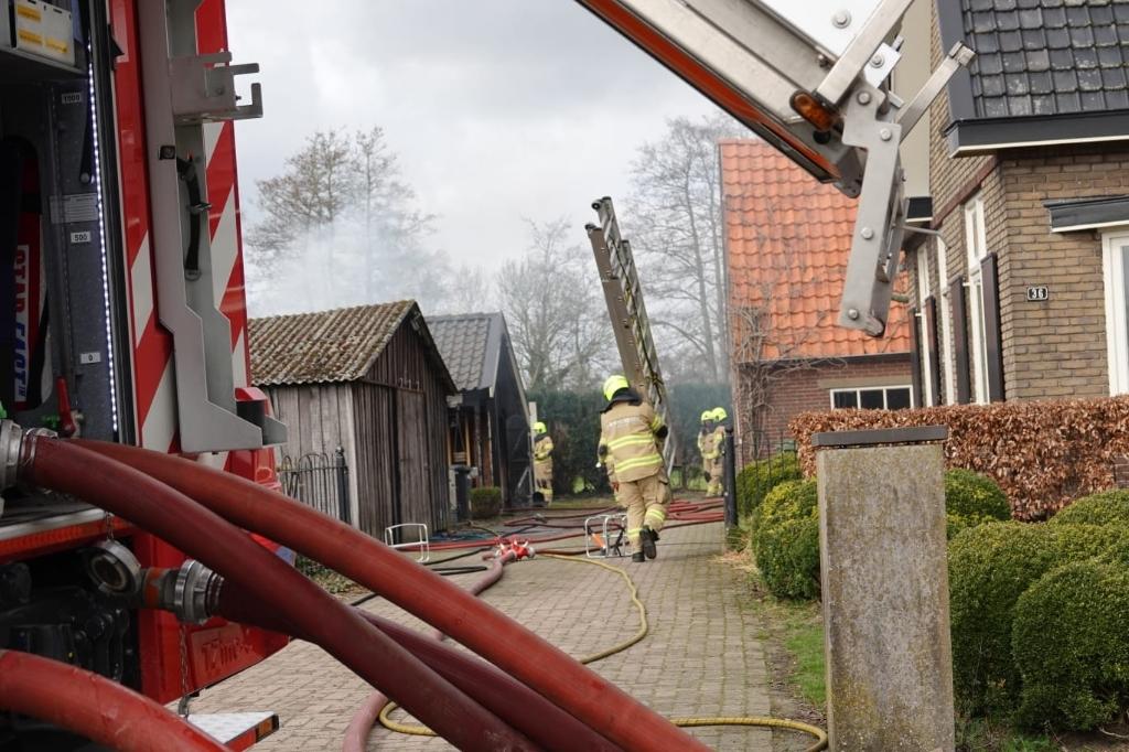 Brand schuur Overhorsterweg Voorthuizen AberMedia © BDU media