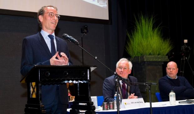 Bekendmaking nieuwe burgemeester Jan de Vries