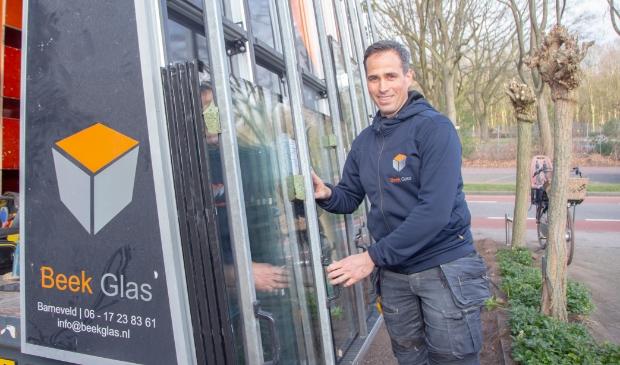 <p>Arwin van de Beek zoekt versterking voor Beek Glas.</p>