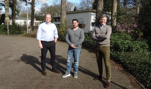 <p>Edward Lind, Berend Jansen en Andr&eacute; Vermaat (vlnr): ,,Never waste a good crisis!&quot;</p>