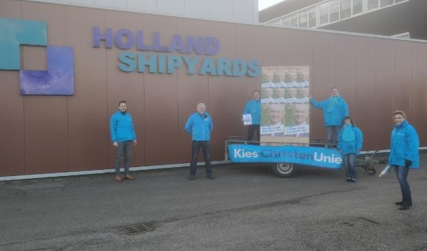 Het begin van de duurzaamheidsestafette bij Holland Shipyards