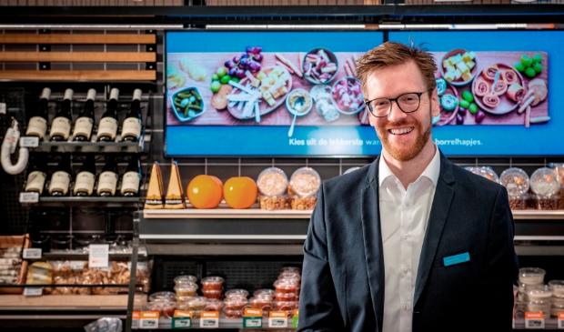 <p>Supermarktmanager Mark de Vries: &ldquo;Straks meer vers en meer gemak bij Albert Heijn Overveen.&rdquo; &nbsp;</p>