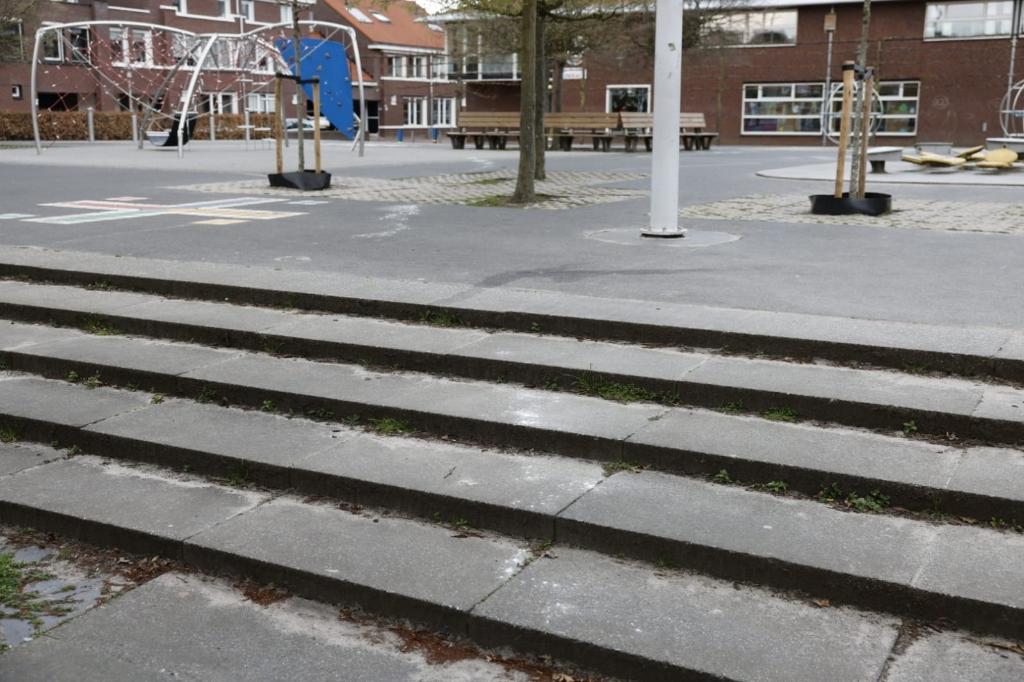 Op meerdere plekken in de Edese wijk Kernhem lag het poeder verspreid. Ted Walker © BDU Media