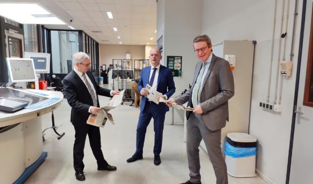 <p>Van links naar rechts Steef de Bruijn, Cornell Heutink en Jeroen Cnossen.</p> BDUprint © BDU media