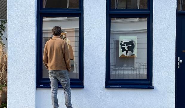 Kunstenaar Jasper Hagenaar voor De Vensterbank