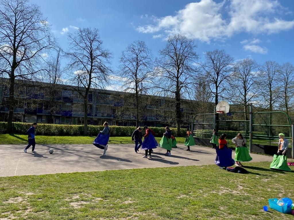 Rokkenvoetbal Valkenheuvel © BDU