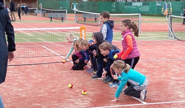 SV Odijk Tennis organiseerde een Paasochtend voor kinderen op Goede Vrijdag