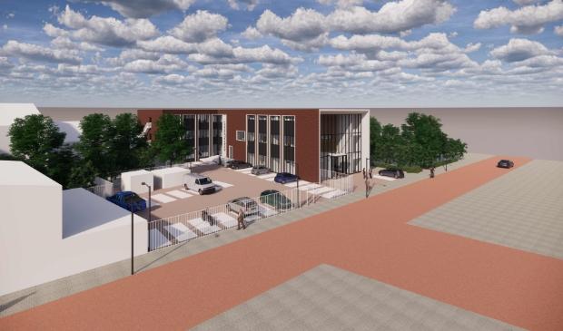 <p>In de herontwikkeling van het gebouw wordt ook aan het aspect duurzaamheid gedacht.</p>