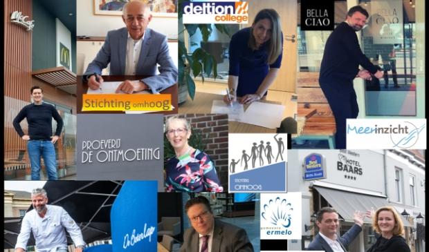 <p>Diverse ondernemers uit de regio zijn deel van de samenwerking</p>